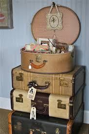 Old Suitcases 172 Best Wonderful Old Suitcases Repurposed Images On Pinterest