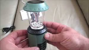 Wind Up Solar Camping Light Lamp Radio From Lidl Mobile Phone