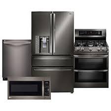 refrigerator and stove. lg 4 piece bundle w/ door-in-door\u0026#8482;refrigerator \u0026 refrigerator and stove n
