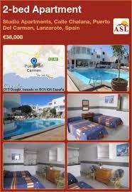 2 Bed Apartment In Studio Apartments, Calle Chalana, Puerto Del Carmen,  Lanzarote