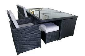 13 piece dining set luna outdoor pe wicker setting montreal arizona