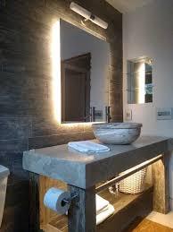 restaurant bathroom modern led lighting