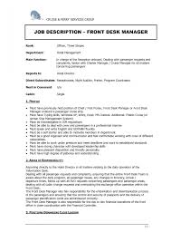Receptionist Resume Templates 22 Examples For Medical Hotel Front