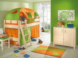 Kids Bedroom Sets For Small Rooms Furniture Vibrant Green Room For Little Boys Feat Tent Loft Bed