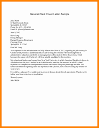 7 Sample General Cover Letters Sap Appeal