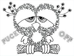 Free Swear Word Coloring Pages At Getdrawingscom Free For