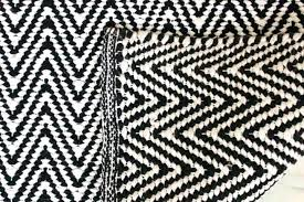 black and white chevron runner rug black and white rug runner 2 meter long chevron floor