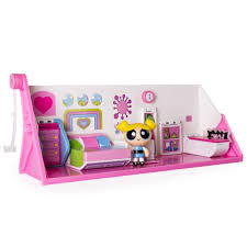 Powerpuff Girls Bedroom The Powerpuff Girls 2 In 1 Flip To Action Playset By Spin Master