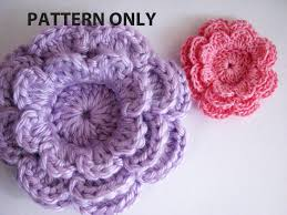 Crochet Flower Pattern New Elegant Patterns For Crochet Flowers Crochet Flower Pattern Three
