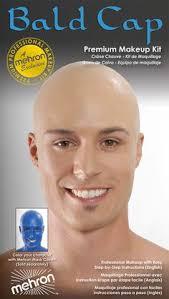 bald cap premium character makeup kit