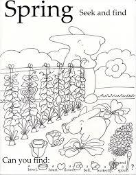 Spring Seek and Find-001 | littlebunnyseries