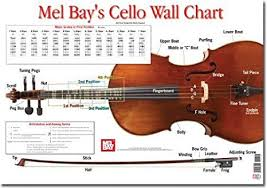 Cello Wall Chart By Martin Norgaard