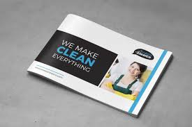 Cleaning Brochure Rian Rahardi Cleaning Service Brochure A5 Landscape