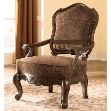 North Shore Dark Brown Showood Accent Chair Signature Design by