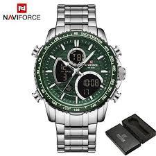 <b>NAVIFORCE Top Brand</b> Luxury Fashion <b>Men</b> Watch Quartz Digital ...
