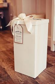 How To Decorate A Wedding Post Box Wedding or Party Post Box VintageRusticShabby Chic tag with 12