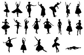 20 ballerina silhouette png transpa