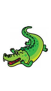 crocodile drawing for kids. Modren Crocodile How To Draw A Crocodile To Drawing For Kids L