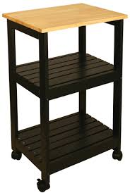 kitchen utility cart. Kitchen Utility Cart - Black Or White (81515, 81516) K