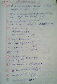 linear equations chapter 7b solution