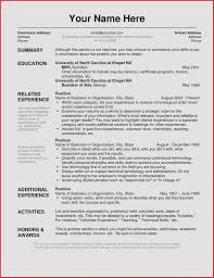 Resume Structure Template Best of Resume Layout Examples Awesome Best S Of Layout A Cv Examples Free