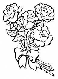Disegni Da Colorare E Stampare Rose Fredrotgans