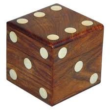 Wooden Dice Box - Lakdi Ka Paasa Box Latest Price, Manufacturers ...