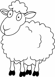 Small Picture Coloring Sheep Coloring Page Cool Sheep Pages Lost Parable Funny