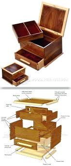 wood jewelry box plans jewellery box plans woodworking plans and projects wood magazine jewelry box plans