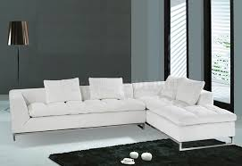 Cute White Modern Sofa Leather Sectionals Sectional Sofas Living