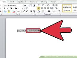 image titled overline characters in microsoft word step 4