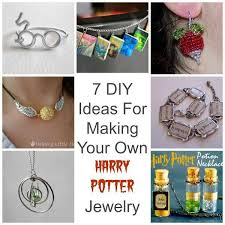 7 ideas for making your own harry potter jewelry jewelry diy harry potter jewelry harry potter diy and harry potter