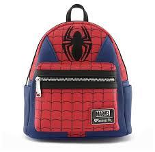 <b>Рюкзак</b> Loungefly <b>Marvel Spider</b>-Man (MVBK0011), искусственная ...