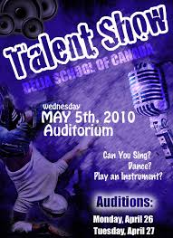 Talent Show Poster Designs Talent Show Poster By Itsnotoverjess On Deviantart