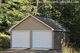 20 x24 garage with 7 12 roof pitch vinyl siding 7 12 roof pitch roll ridge vent and rs