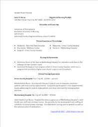 Nursing Graduate Resume Sample Nursing Graduate Resume Templates At