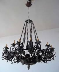 46 beautiful special breathtaking large wrought iron chandeliers rustic classic and gothic outdoor chandelier lighting victorian crystal pendants for candle