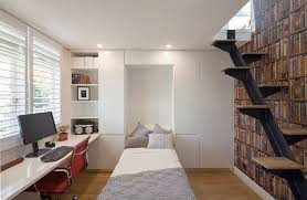 home office and guest room. attractive office guest room decorating ideas home with a hidden bed and d