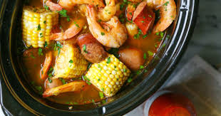 slow cooker shrimp boil delicious