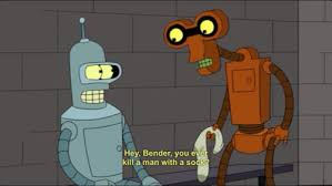 Bender Quotes Stunning Funny Quote Cartoon Sock Prison Futurama Bender Matt Groening Bender
