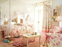 Cute Pink Bedroom Ideas With Wallpaper Theme
