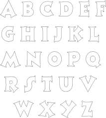 large letter stencils for painting