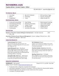 Resume Tips Creative Writing How To Write A Curriculum Vitae Lucas