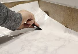 want an expensive look without the tag makeover your bathroom or kitchen with this