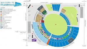 Ground Map Blundstone Arena