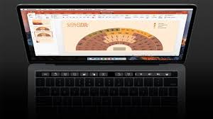 Protouch Computer Charting Microsoft Office For Mac Adds Touch Bar Support For Macbook