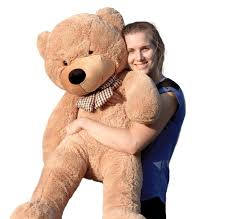 Big Light Brown Teddy Bear