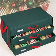 Christmas Decorations Storage Box Holiday Ornament Storage Box In Ornament Storage Boxes 11