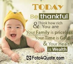 Inspirational Quotes About Babies Inspiration Positive Attitude Quotes Today Be Thankful Foto 48 Quote