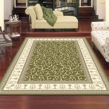 charisma 10895 traditional rug green